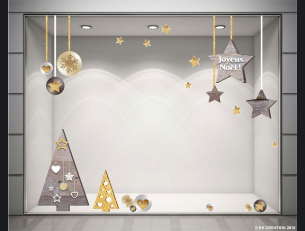 Deco noel stickers